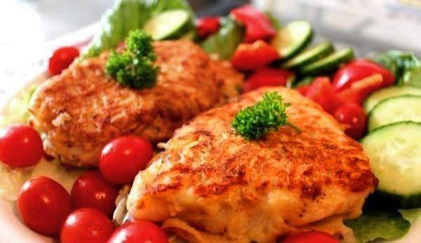 Курица с цветной капустой
