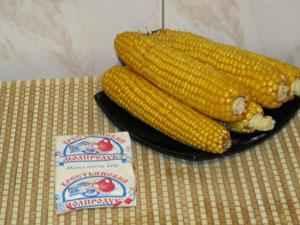 Вареная кукуруза. Ингредиенты