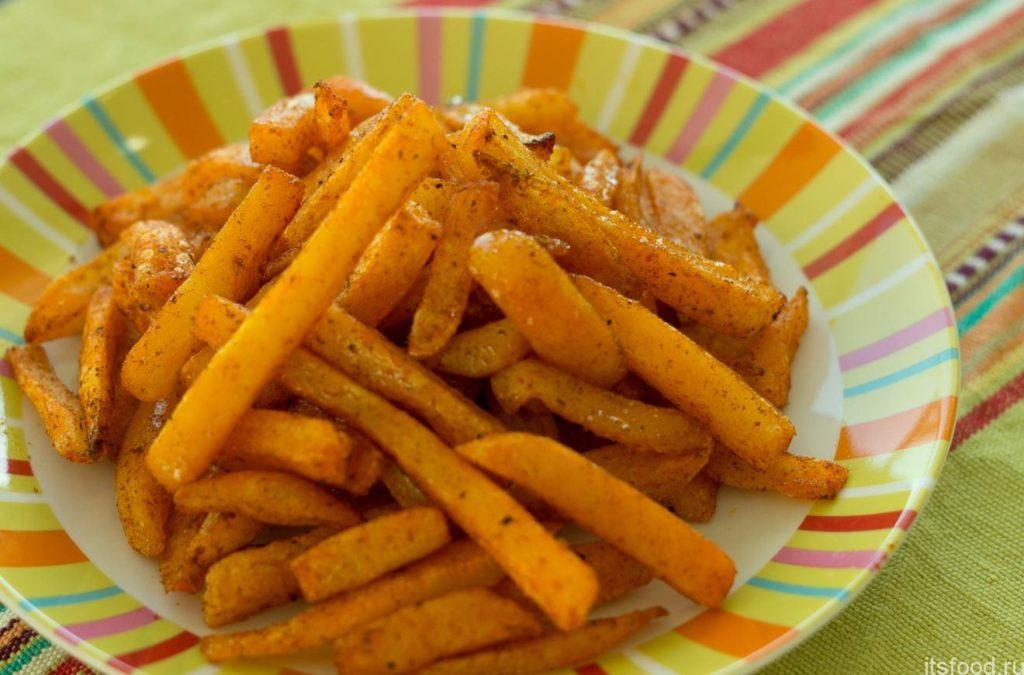 Рецепт пошаговый картошки фри в духовке