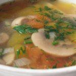 Как готовить грибной суп с картофелем: рецепт