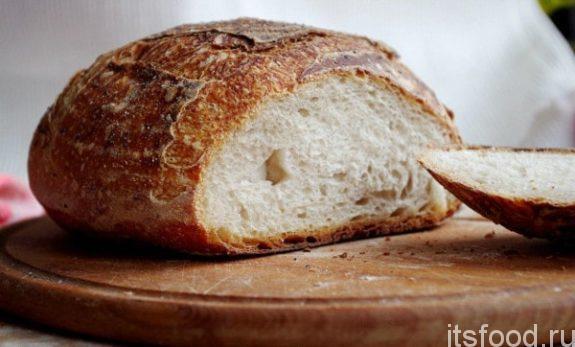 Хлеб в домашних условиях в духовке - рецепт с фото