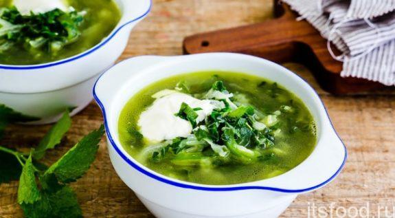 Изумительно полезный суп из крапивы