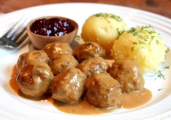 Шведские тефтели - рецепт