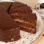 Простой шоколадный торт - пошаговый рецепт с фото