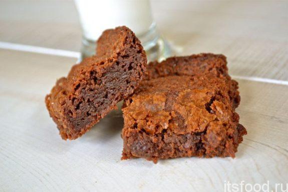 Печенье «Брауни» - рецепт с фото