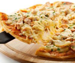 """Пицца на скорую руку """"Спеши любить!"""" - рецепт с фото"""