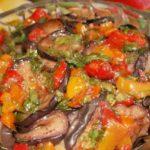 Закуска из баклажанов на праздничный стол - рецепт с фото