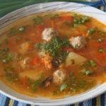 Как приготовить суп с фрикадельками - рецепт