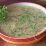 постный грибной суп «Юшка»