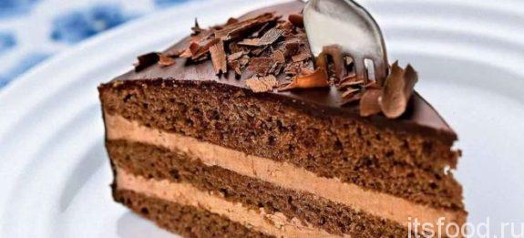 """Шоколадный торт """"Прага"""" в домашних условиях - рецепт с фото"""