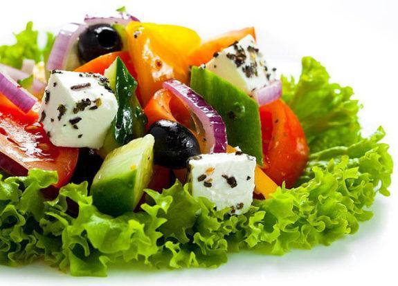 Греческий салат - классический пошаговый рецепт с фото