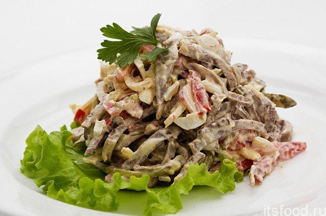 Рецепт салата цехтон с