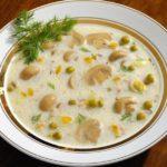 syrnyj sup s gribami