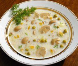 Сырный суп с грибами - пошаговый рецепт с плавленным сыром