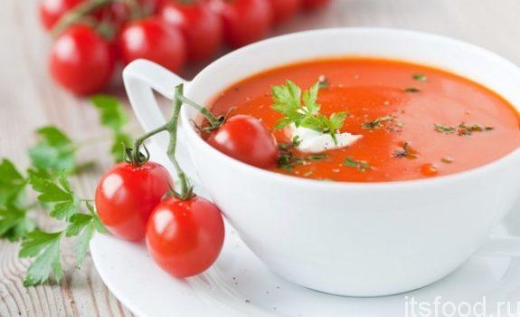 Холодный суп Гаспачо - рецепт в домашних условиях