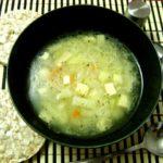 angliiskii sup s kopchenim sirom