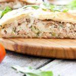 Рыбный пирог из слоеного теста - пошаговый рецепт с фото
