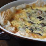 Пирог «Киш» с курицей и грибами - рецепт с фото