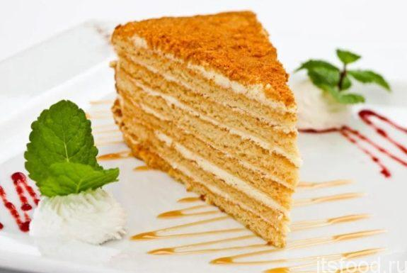Торт «Медовик» - классический рецепт