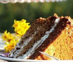 Торт «Медовик» в мультиварке - рецепт с фото