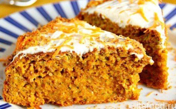 Морковный пирог в духовке - пошаговый рецепт с фото