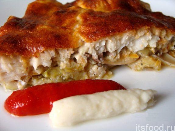 Рыбная запеканка в духовке - пошаговый рецепт с фото
