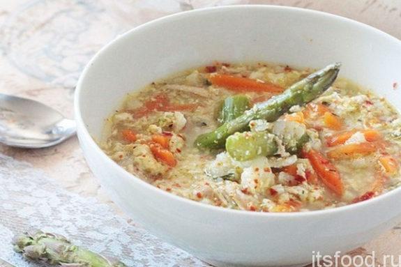 Французский весенний суп