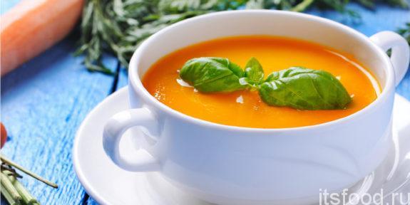 Морковный суп-пюре: пошаговый рецепт с фото