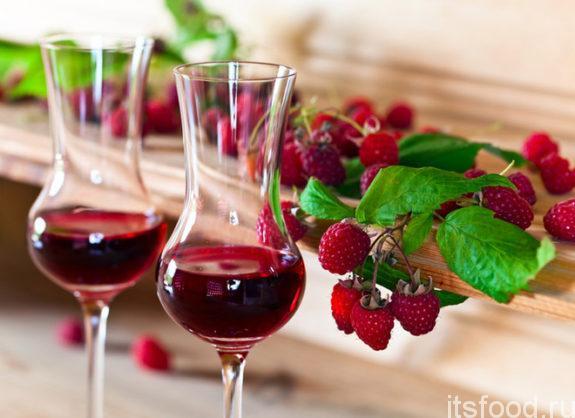 Приготовление вина из малины в домашних условиях