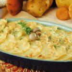 Картофельная запеканка с рыбой в духовке - пошаговый рецепт с фото