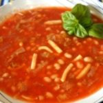 Тихоокеанский суп с кальмарами