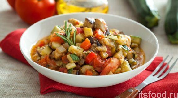 Овощное рагу с баклажанами - рецепт