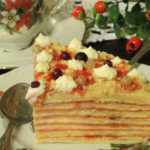 Вафельный торт «Смородинка»