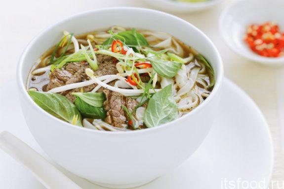 Вьетнамский рецепт супа «Фо Бо» в домашних условиях