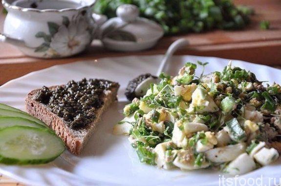 Салат из печени трески - пошаговый рецепт с фото