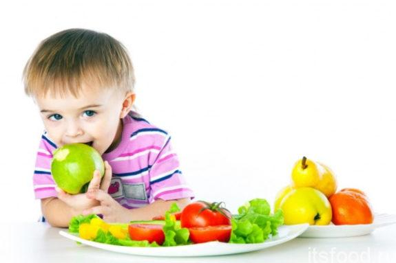 Пять главных продуктов для детей