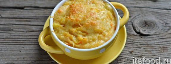 Вкусное картофельное пюре, запеченные в духовке - рецепт с фото