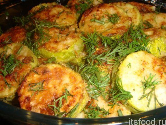 Фаршированные кабачки с фаршем запеченные в духовке - рецепт с фото