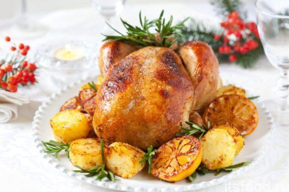 Блюда из курицы на Новый Год