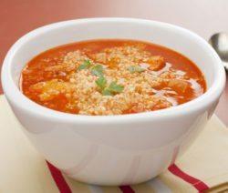 Томатный суп с чечевицей - рецепт