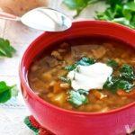 Letnij gribnoj sup