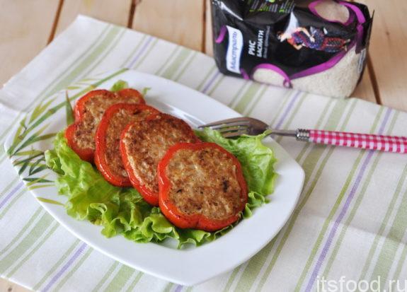 Фаршированные перцы в духовке - пошаговый рецепт с фото