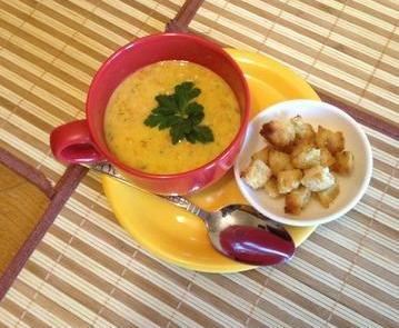Морковный суп «Зайкина радость»