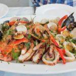 Салаты с морепродуктами на новый год