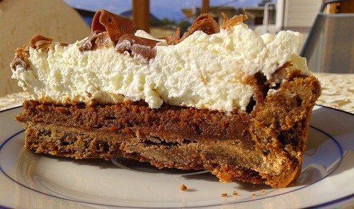 Шоколадно-сливочный тарт «Миссисипи»