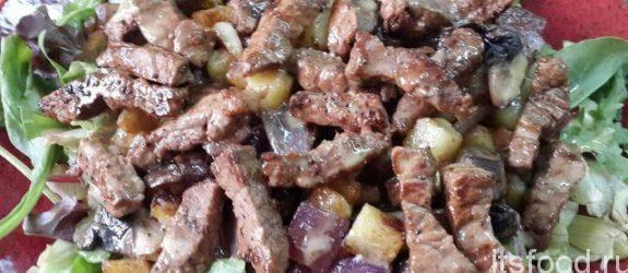 Теплый салат «Тель-Авив»