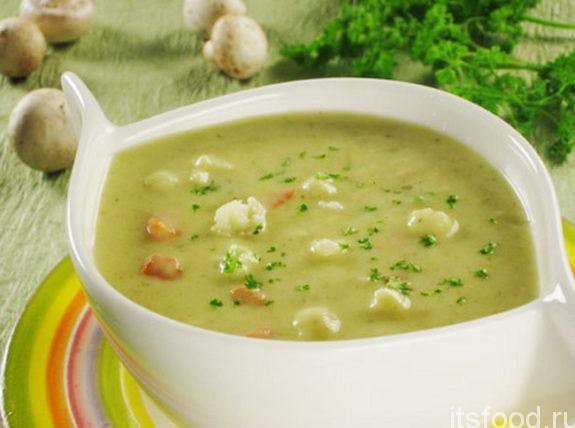 Суп - пюре из кабачков: рецепт приготовления