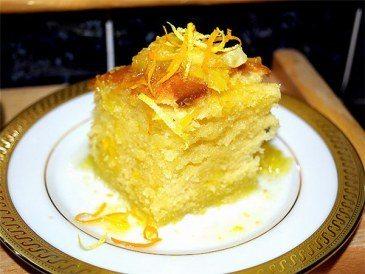 Цитрусовый тортик