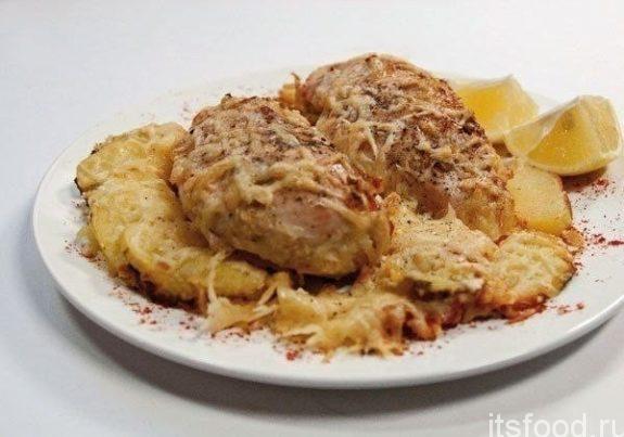 Сочная сливочная курочка с сыром