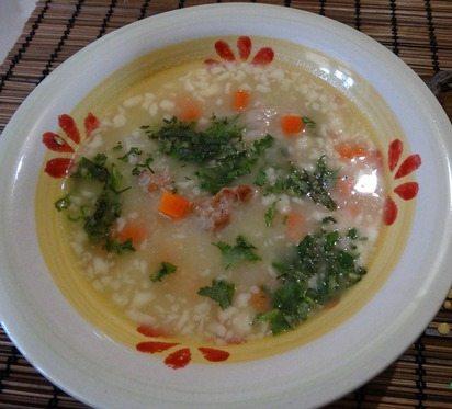Суп «Бабушкина затирка»